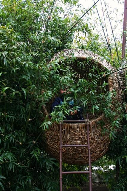 child sized birdhouse