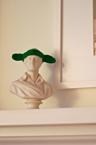 Lord Byron in a Pickle Hat
