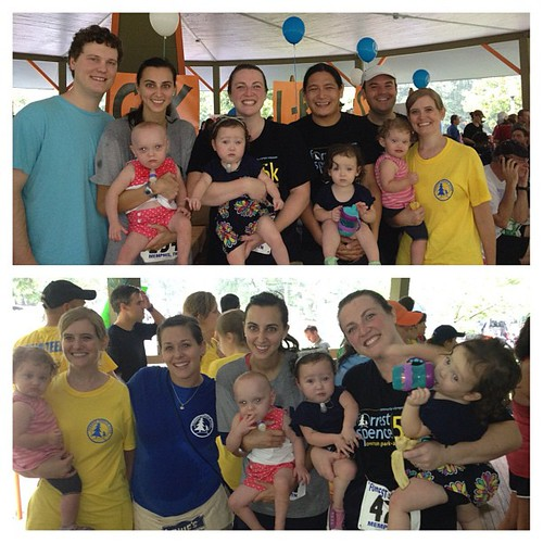 Loved seeing my precious NICU families at the race! @chuviolin @bethanychu
