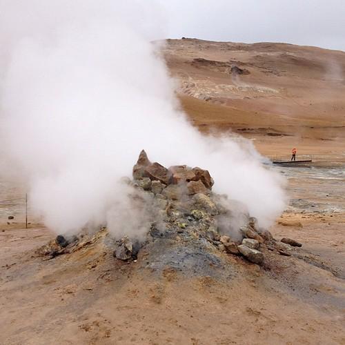 Fumarola #iceland #islandia #tripiniceland #volcan #volcano