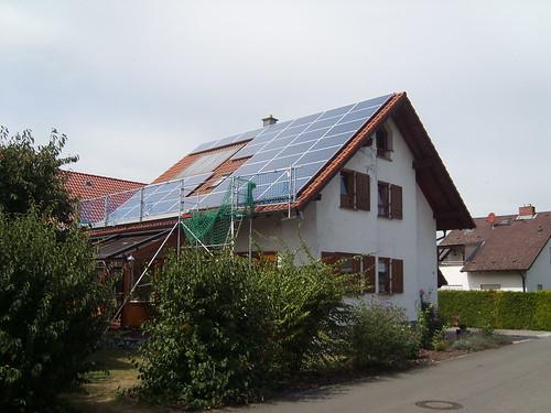 Die repowerte PV Anlage
