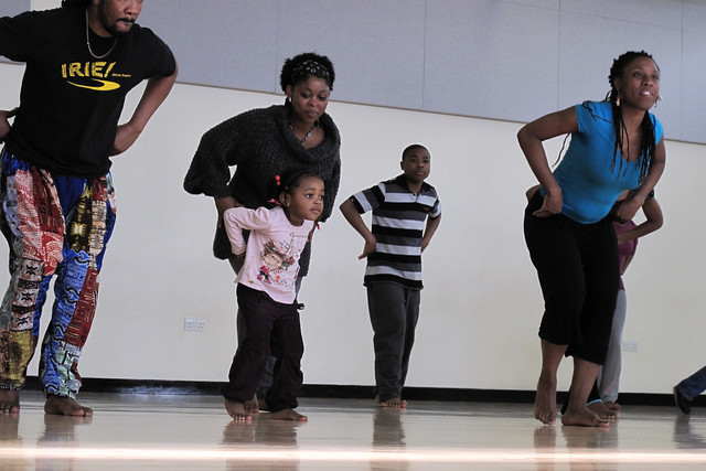 Family Learning Open Weekend event  © Irie! dance theatre 2012