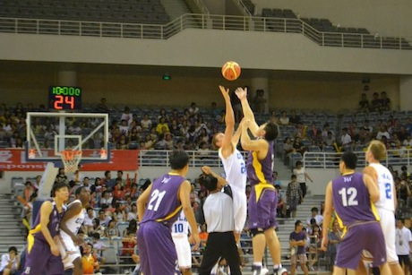 August 28th, 2012 - The UCLA Bruins play against the Shanghai Sharks in Shanghai