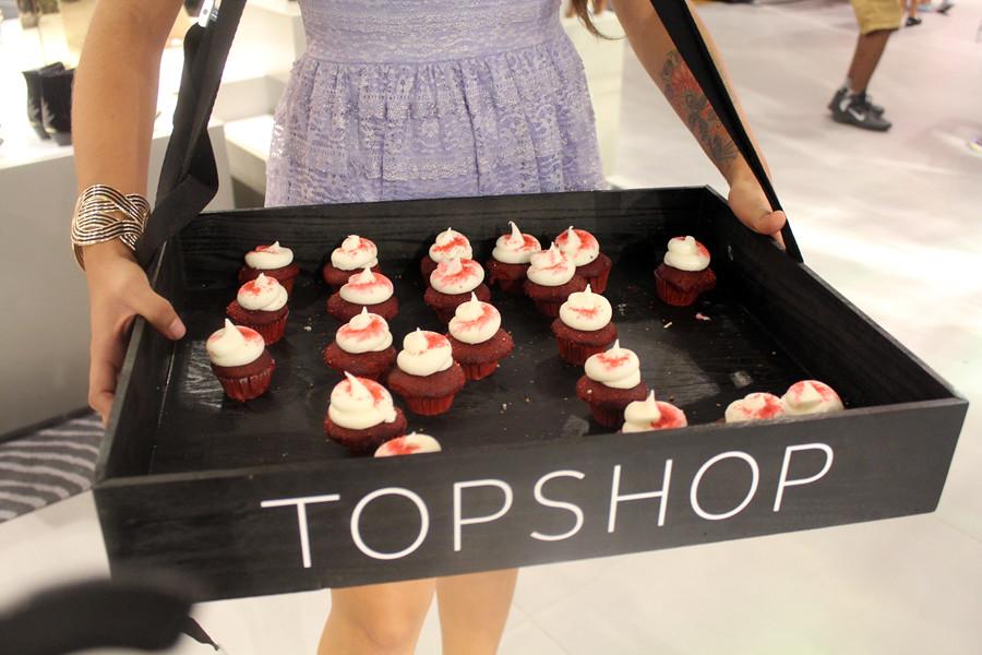 Topshop cupcakes