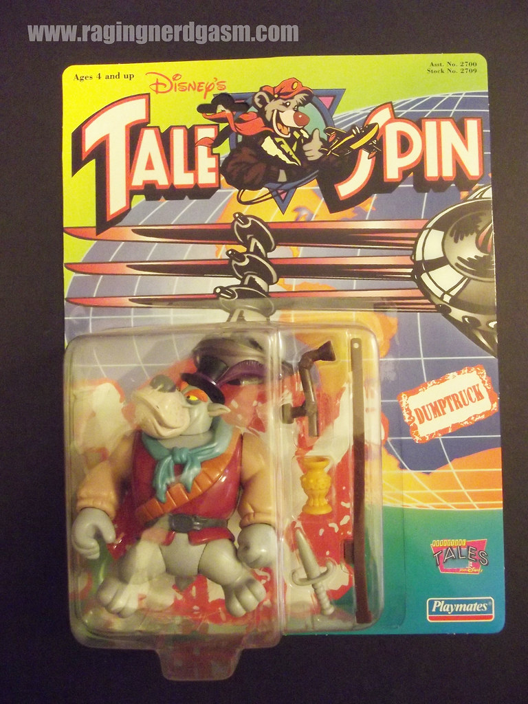 Dysney's Tale Spin Action Figures by Playmates 1991 023