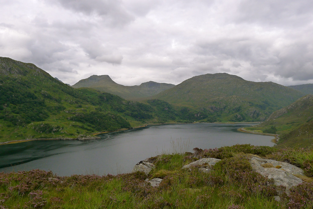 The Kintail Hills above Loch Hourn