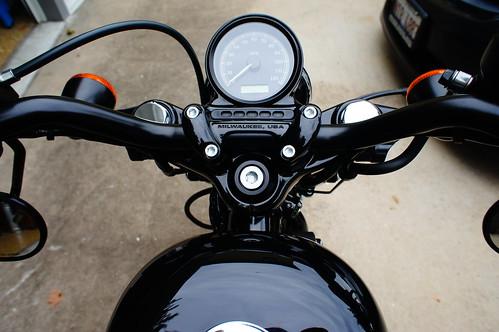 Harley Forty Eight Gauge
