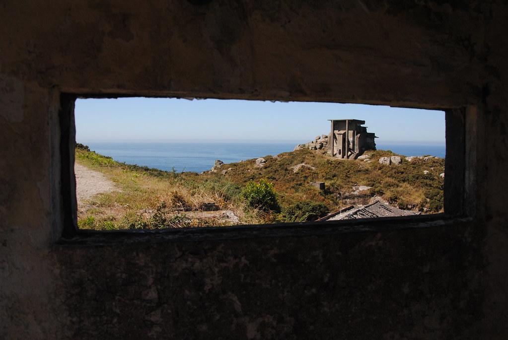 Cabo Silleiro bunker, Spain, fromthewindow.net