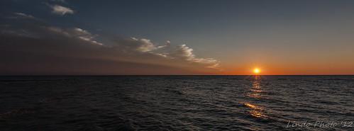 sunset sun canada canon 5d lakehuron iamcanadian canonllenses pointclark 5dc canon1635f28lii richsowa lindophoto