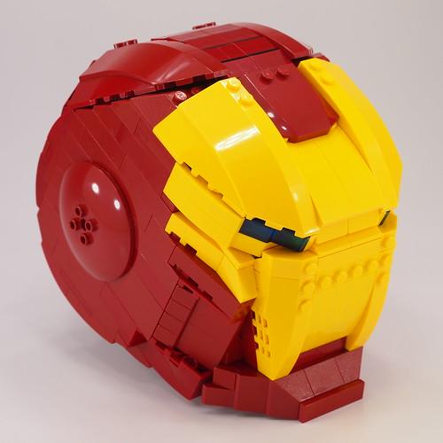 Lego Ironman Helmet