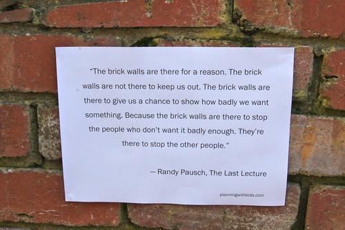 Quotes Brick Brick Wall Quote