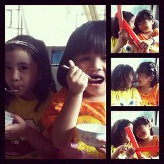 Cute kiddos @katebondoc @abondoc