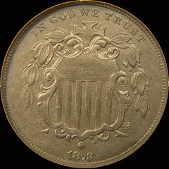 1873 Shield NIckel