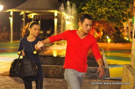 Teraju Utama Drama 'Saiful Nita', Aidil Aziz Sebagai Saiful Dan Kilafairy Sebagai Nita