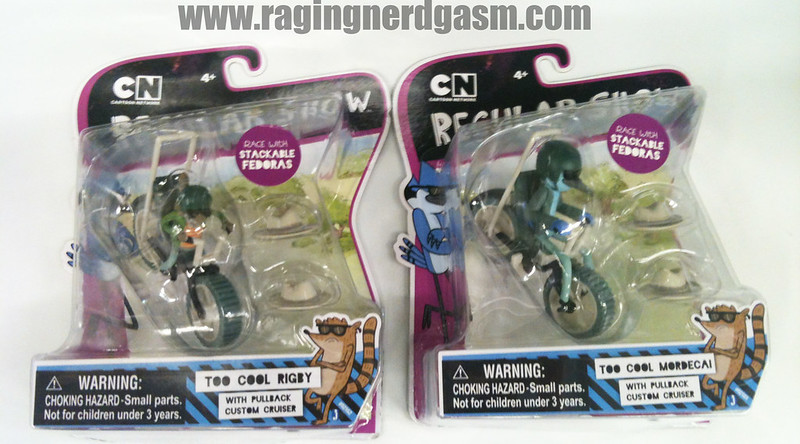Cartoon Networks Regular Show Too Cool Rigby and Mordecai 3 ' Figures by Jazwares 001