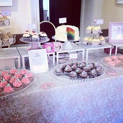 At decadence wedding fair in malone house today!