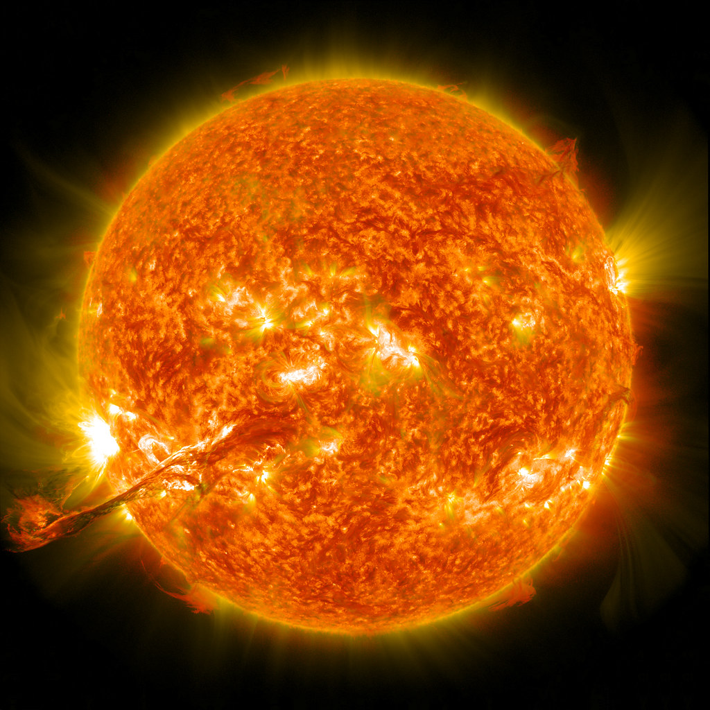 NASA Captures Colossal Coronal Mass Ejection from the Sun, August 2012
