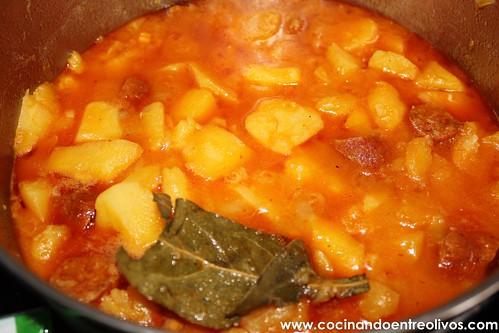 Patatas guisadas con chorizo (9)