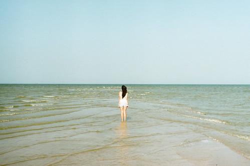 sea summer film me girl back minolta
