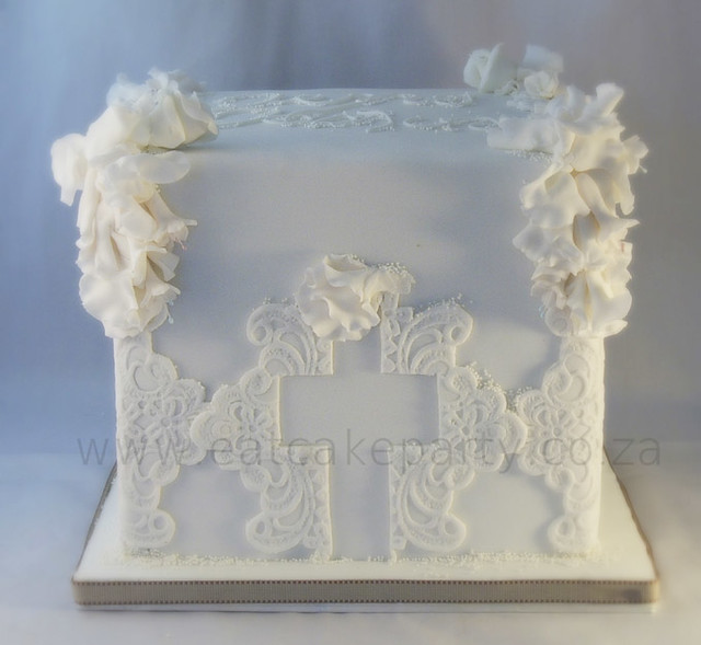 Square Christening Cake Images : Square Christening Cake Flickr - Photo Sharing!
