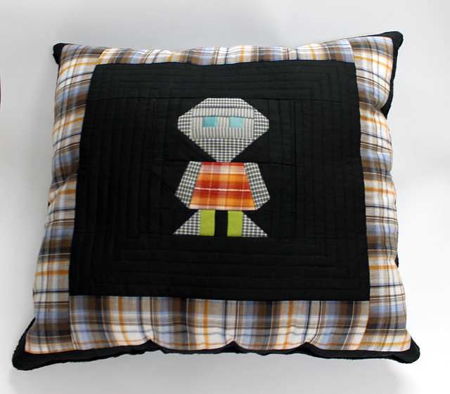 Boy's room decorative pillow