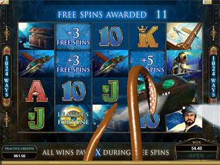 Leagues of Fortune Bonus Game