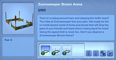 Zoomsweeper Broom Arena