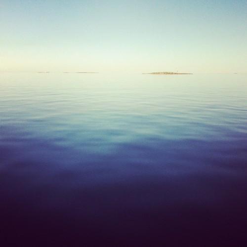 blue sea summer sky water still 2012 kokkola kesä ostrobothnia tankar