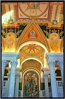 Washington DC ~ Interior ~ Library of Congress