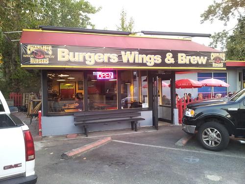 Charlie's Burgers Wings & Brew