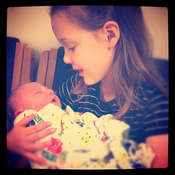 Sophie and her little brother Henry!!