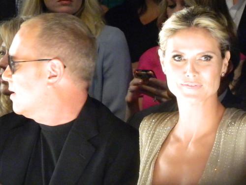 Michael Kors and Heidi Klum