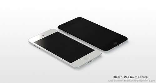 iPod Touch 5th Gen. Concept.