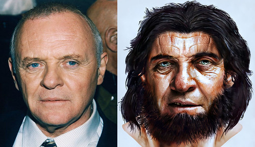 Hopkins Neanderthal Before and After