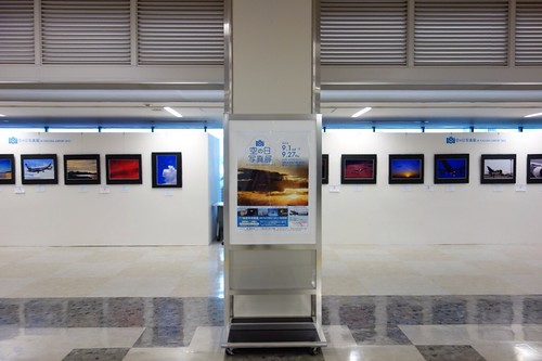 Airplane photo exhibition at Fukuoka Airport (RJFF/FUK) 1