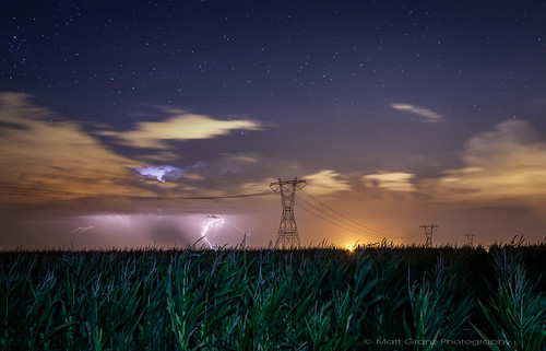Lightning, Stars and, Cornstalks