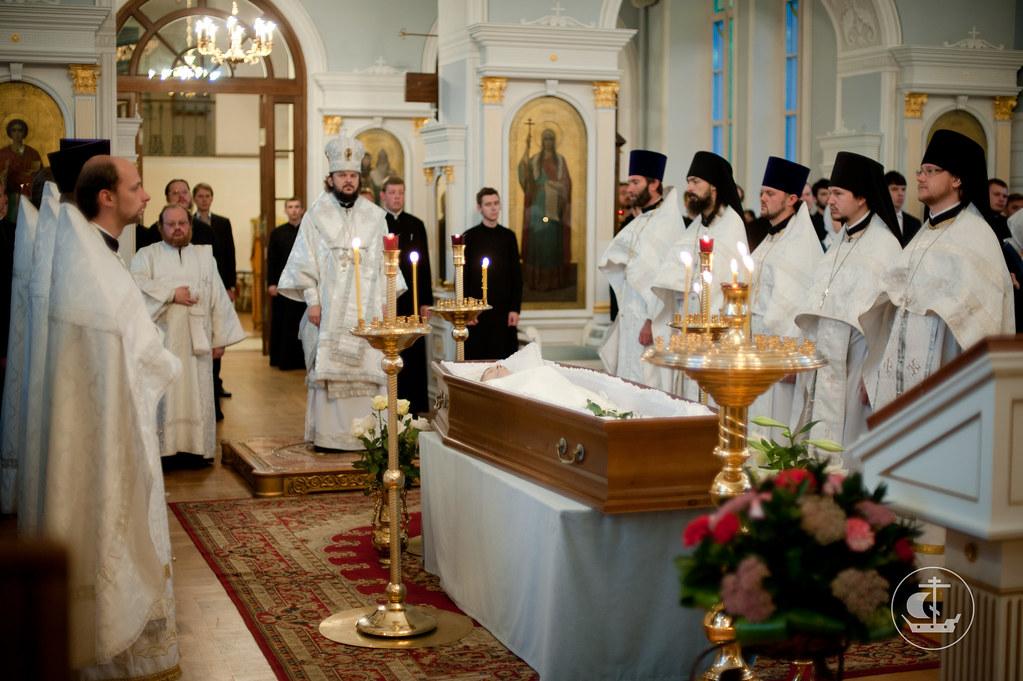 13 сентября 2012, Отпевание и погребение Ивана Милетовича Ружанского