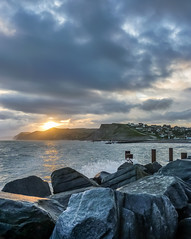 Sunset, West Bay, Dorset