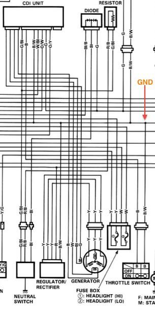 tl1000r fan wiring diagram vs1400 intruder wiring diagram suzuki, Wiring diagram