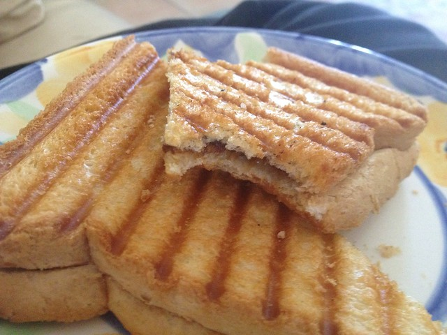 Sunday Lunch - Vegemite & Cheese toastie