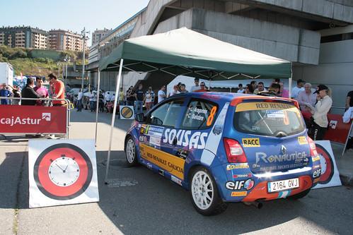 Luis Aragonés-Cuko Bañobre , Rallye Principe de Asturias 2012