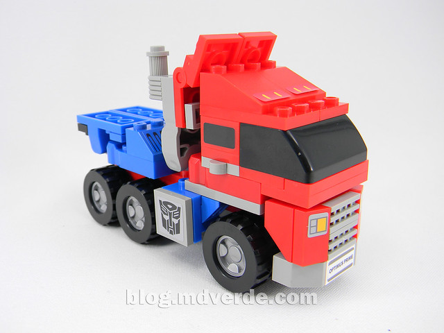 Transformers Optimus Prime Kre-O - modo alterno