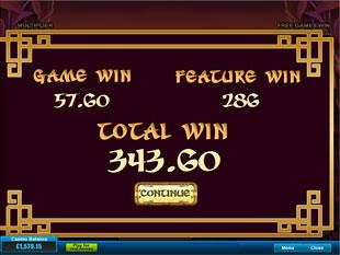 free Lucky Panda gamble feature