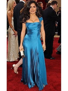 Salma Hayek Satin Sheath-Column-One-Shoulder-Floor-length-Satin-Oscar-Awards-Celebrity-Evening-Dress-mym396201104302348591