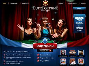 Euro Keberuntungan Casino Depan