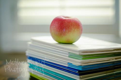 书上的苹果