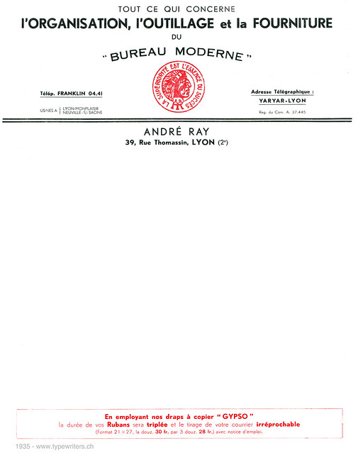 letterhead_andre_ray_1935
