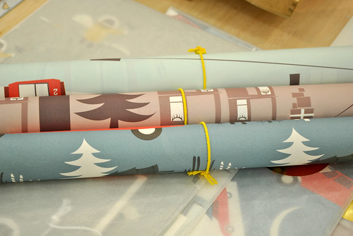 Pleased to Meet gift wrap