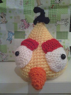 Angry birds amarillo frontal