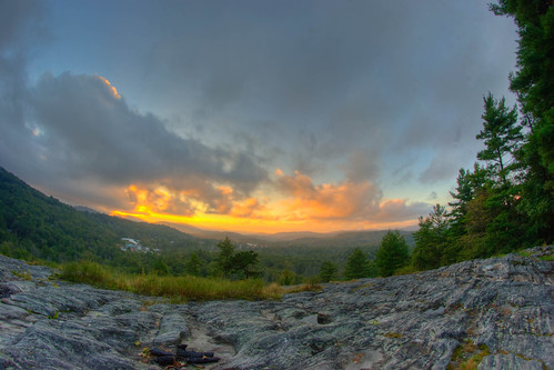 Sunset Rock HDR